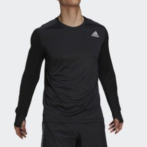 Adidas running climalite long sleeves shir…